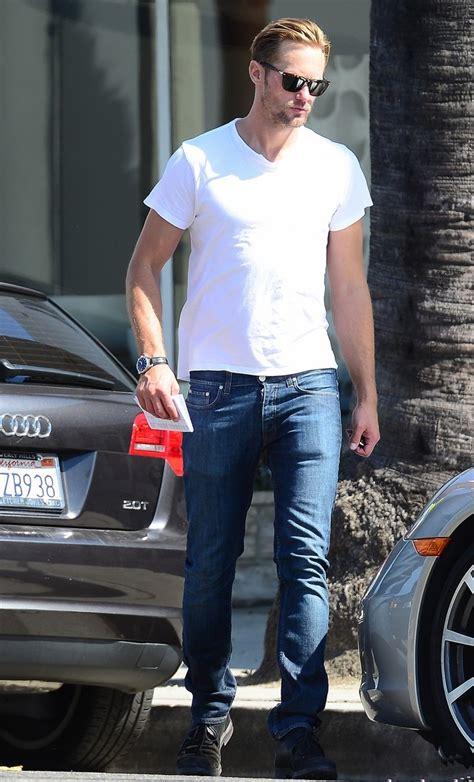 alexander skarsgard  skinny jeans denimology