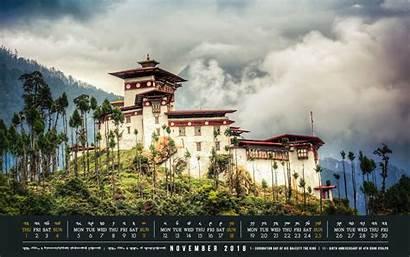Bhutan Wallpaperaccess Calendar Desktop November Wallpapers