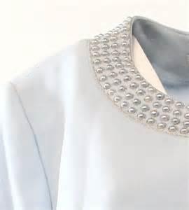 tahari tahari crystal blue pearl trim women s 18 snap