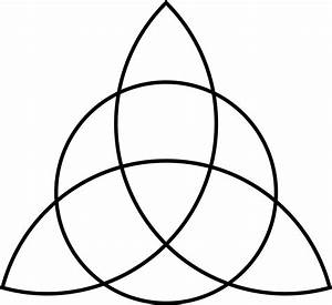 Clipart - Triquetra with Circle