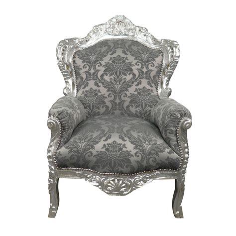 fauteuil baroque d occasion fauteuil baroque argent royal rococo meuble et canap 233 baroque