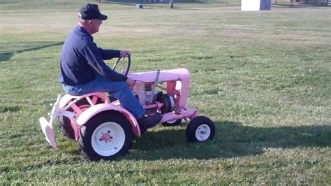 Vintage Garden Tractors by 1959 Of 1960 Pink Panzer Antique Vintage Garden Tractor