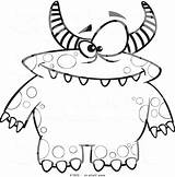 Monster Coloring Pages Printable Cartoon Cute Print Ryan Toy Face Halloween Aloha Getcolorings Monsters Dojo Class Getdrawings Scary Colorings sketch template