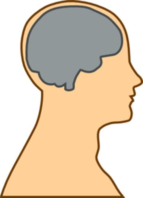 man brain grey clip art  clkercom vector clip art