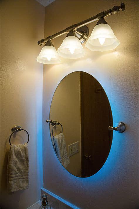 led lights behind bathroom mirror outdoor rgb led strip light reel weatherproof 12v led
