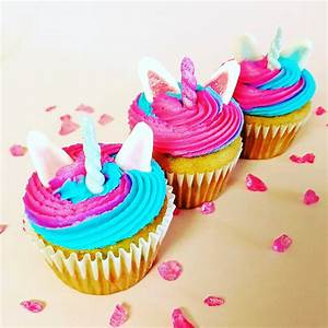 Adorable Unicorn Cupcakes Decorations TOTS Family