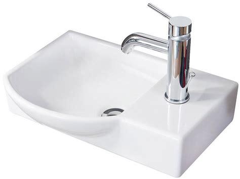 Fackelmann Waschbecken »gäste-wc«, Breite 45 Cm, Für Gäste