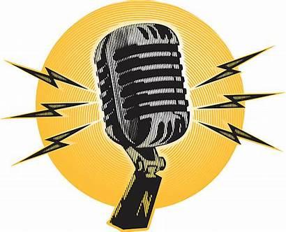 Microphone Clipart Illustration Vector Clip Karaoke Pencil