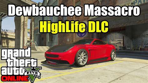 gta   dewbauchee massacro high life update dlc car