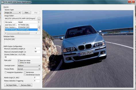 Android License Plate Recognition Source Software