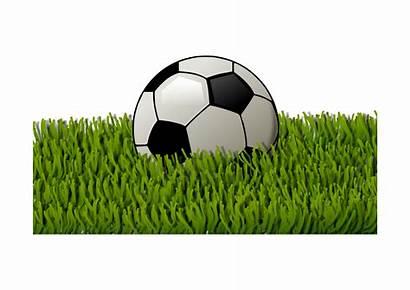 Grass Football Soccer Clipart Ball Clip Openclipart