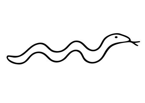 snake clipart black and white clip snake adam black white line