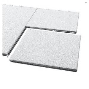 shop armstrong 12 quot x 12 quot cirrus concealed beveled ceiling tile panel at lowes