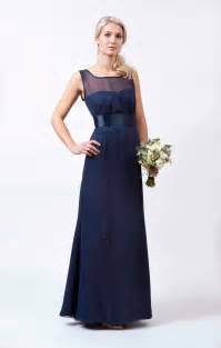 navy wedding dress from to measure hitched co uk - Navy Bridesmaid Dresses