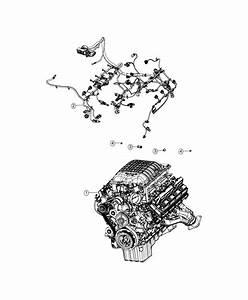 Dodge Challenger Wiring  Engine  Fca