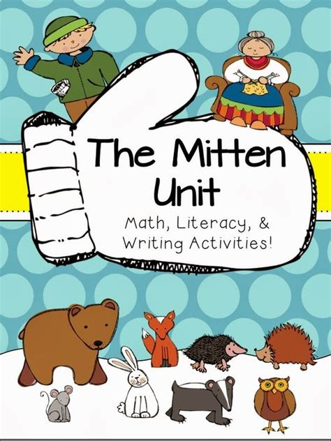 the mitten unit of math writing amp literacy 534 | 870f3fb0668dc920ff7ac5c6edd4e908
