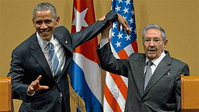 Obama Hands Cuban Havana Monday Trip Castro