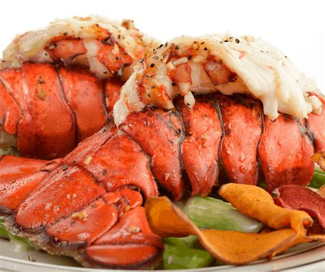 lobster tail tails air fryer oz langosta grilled aragosta asparagus frozen recipe cooking forktospoon hummer maine gegrillter spargel coda lobsters