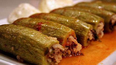 stuffed zucchini kousa mahshi recipe arabic food recipes