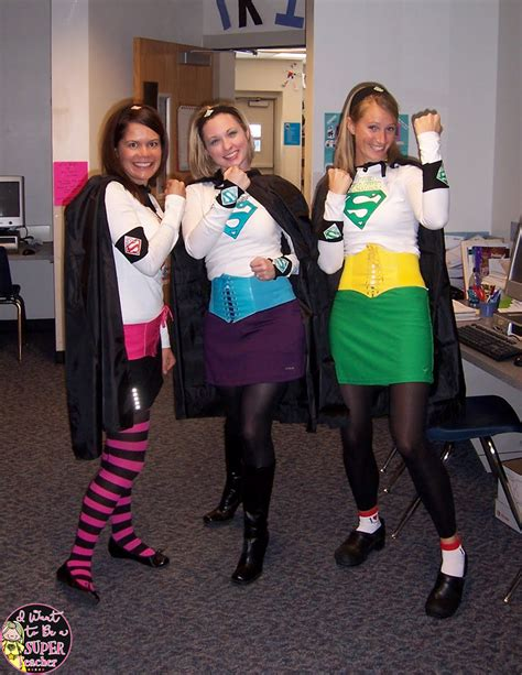 5 Last Minute Halloween Costumes for Teachers - I Want to be a Super Teacher