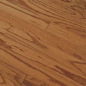 shop bruce springdale plank prefinished gunstock engineered oak hardwood flooring 25 sq ft at