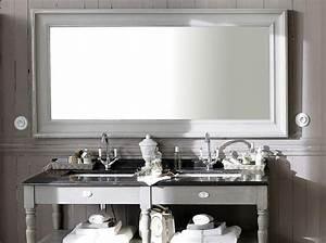 miroir salle de bain elle decoration With grand miroir pour salle de bain