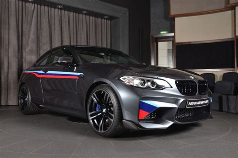 Bmw Parts by Bmw M2 Gets M Performance Parts And Akrapovic Exhaust System