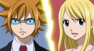 Loke and Lucy | Fairy Tail | Pinterest