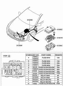 2009 Kia Optima Engine Wiring
