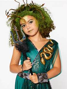 Party Invitations For Girls Medusa Child Costume Party Delights