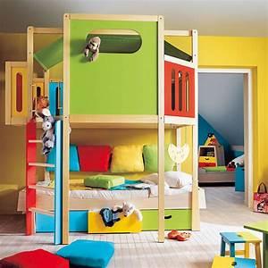Chambre D Enfant : am nager une mezzanine dans une chambre d 39 enfant astuces ~ Melissatoandfro.com Idées de Décoration