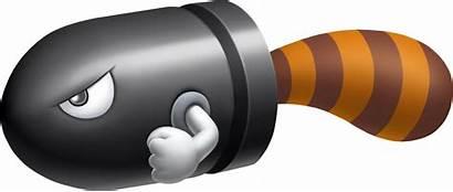 Mario Bullet Bill Super Tail 3d Land