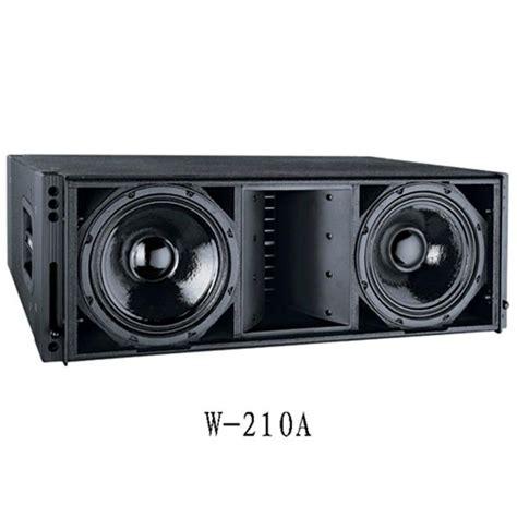 cvr audio line array empty box cvr w 210a cvr pro audio china manufacturer audio