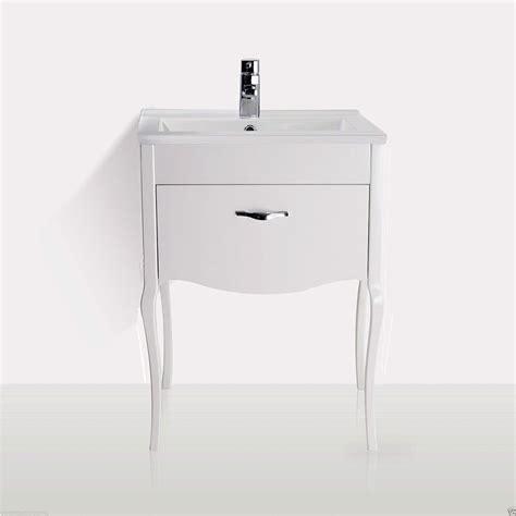 florida traditional freestanding white basin vanity unit