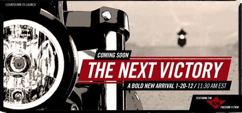 Another New Victory Coming 1/20/12
