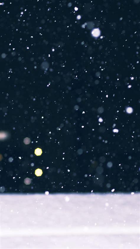 Animated Snow Wallpaper Iphone - snow falling bokeh winter iphone 5 wallpaper hd free