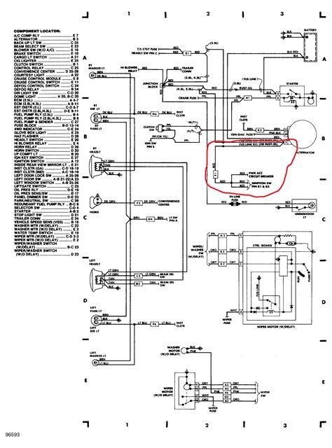 Need Wiring Diagram For The Ignition Switch