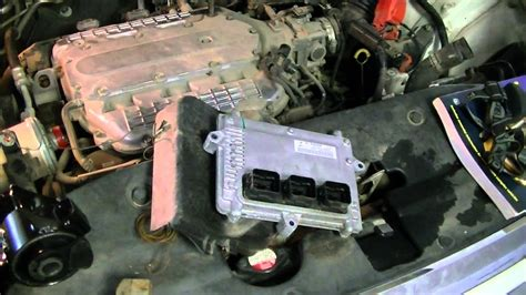 Honda Odyssey Motor by 2005 Odyssey Ex Motor Mount Replacement Pt1
