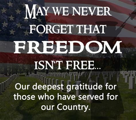 Thank You Serving Our Country Quotes