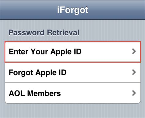 forgot apple id password on iphone iforgot apple id iforgot icloud security questions Forgo