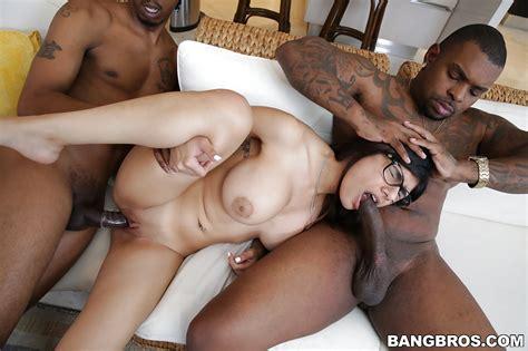 Big Black Cocks Pound Big Tits Teen Mia Khalifa In An