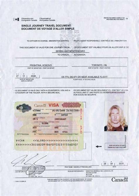 permanent resident form canada traveling to canada documents eki riandra