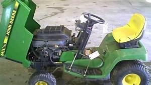 Lot 1557a John Deere Lx188 Lawn Mower Running