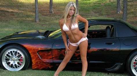 hot models with cars hot chicks and cars clipart
