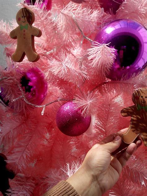 arbol de navidad rosa 3 850 00 en mercado libre