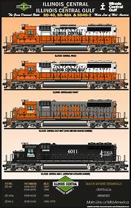 Illinois Central & Illinois Central Gulf Railroad Poster