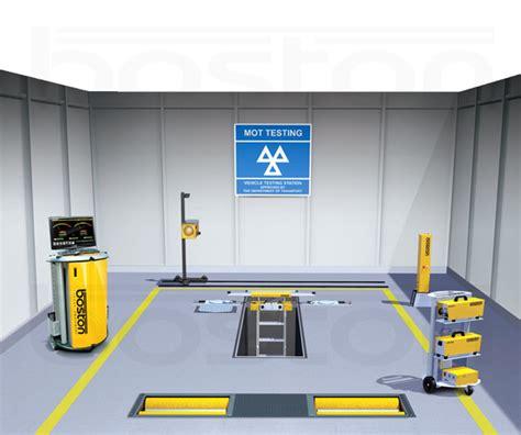 Mot Class 7 Testing Bay Inspection Pit  Boston Garage