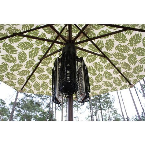 sense patio umbrella halogen heater 177141