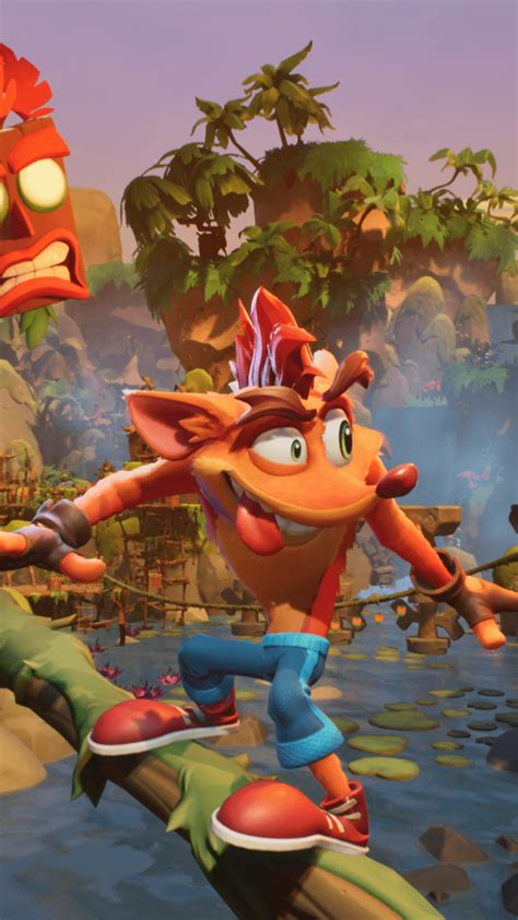 crash bandicoot    time jungle  ultra hd