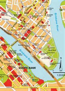 Brisbane Australia City Map